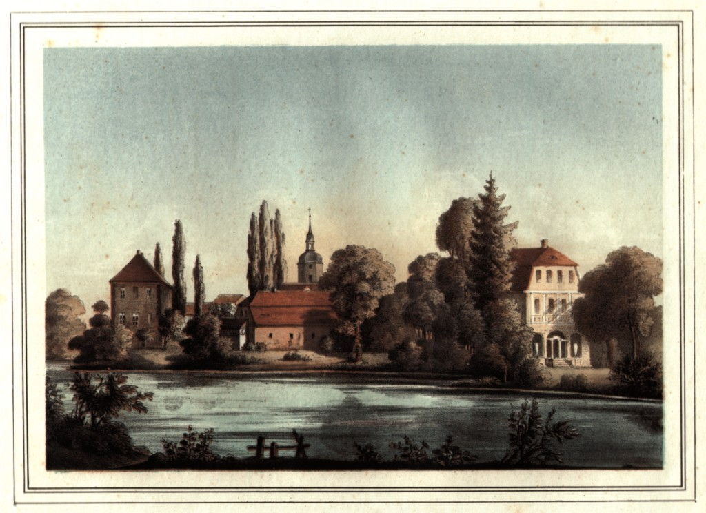 Historische Ansicht von Nöbdenitz (Burg Posterstein).