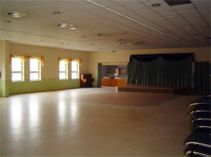 Blick in den Bürgersaal Nöbdenitz