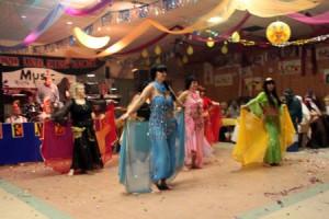 Jedes Jahr in Nöbdenitz: Der Bürgersaal wird Kulisse für den Nemzer Fasching