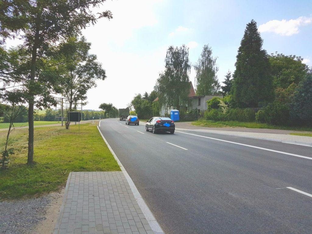 Die erste Großbaustelle in der Gemeinde Nöbdenitz ist überstanden: Der Verkehr auf der B7 in Untschen rollt wieder.