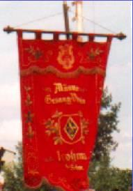 Vereinsfahne des Männerchores