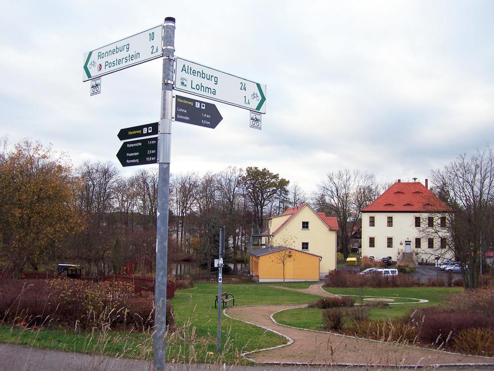 Zum Wandern hervorragend geeignet: Nöbdenitz und seine Ortsteile