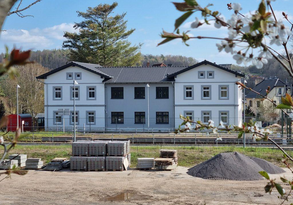 Gesundheitsbahnhof Nöbdenitz (Foto: Erich Zapp)